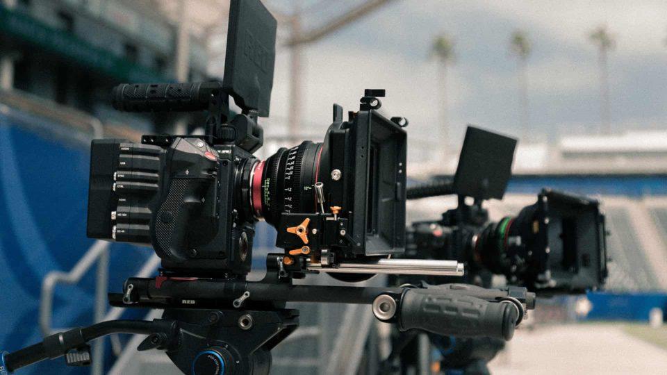 映像撮影カメラ