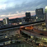 岡山市街の空撮